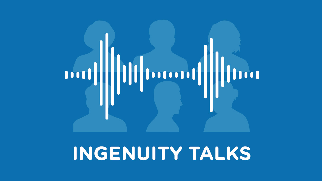 Ingenuity talks - podcast logo