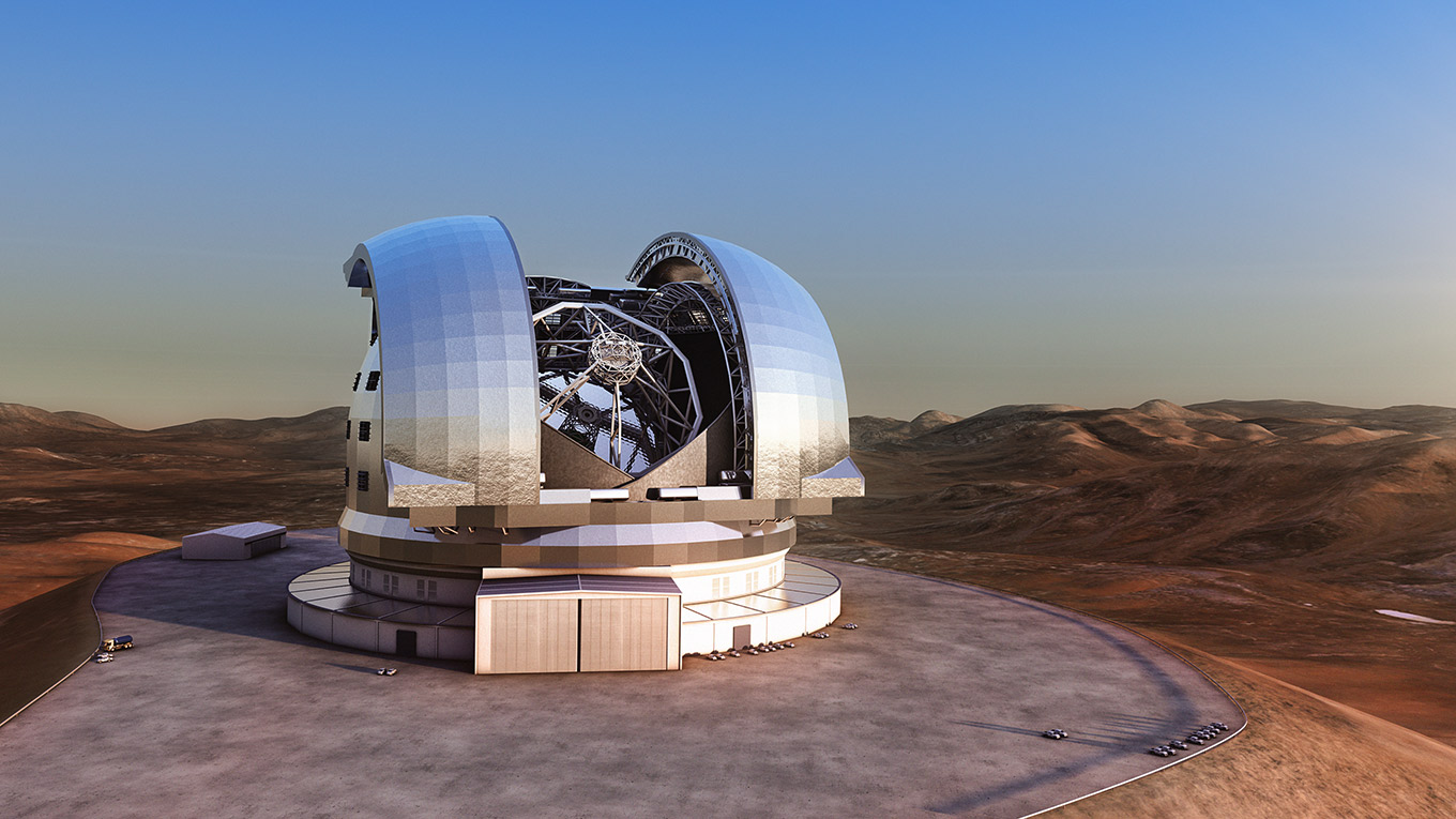 European Extremely Large Telescope (credit: ESO/L. Calçada)