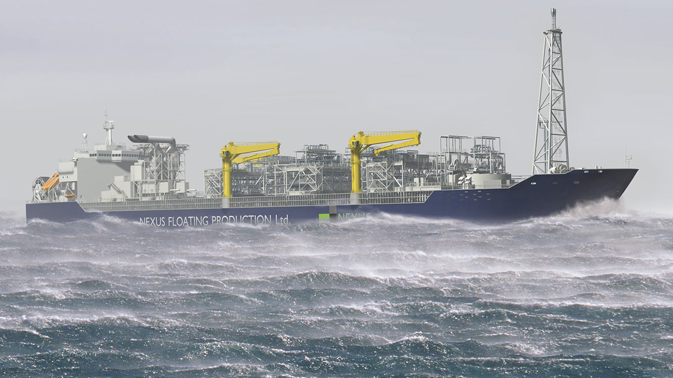 Visualisation of Nexus FPSO