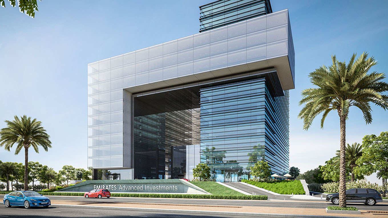 New office building complex for the EAIG headquarters in Abu Dhabi