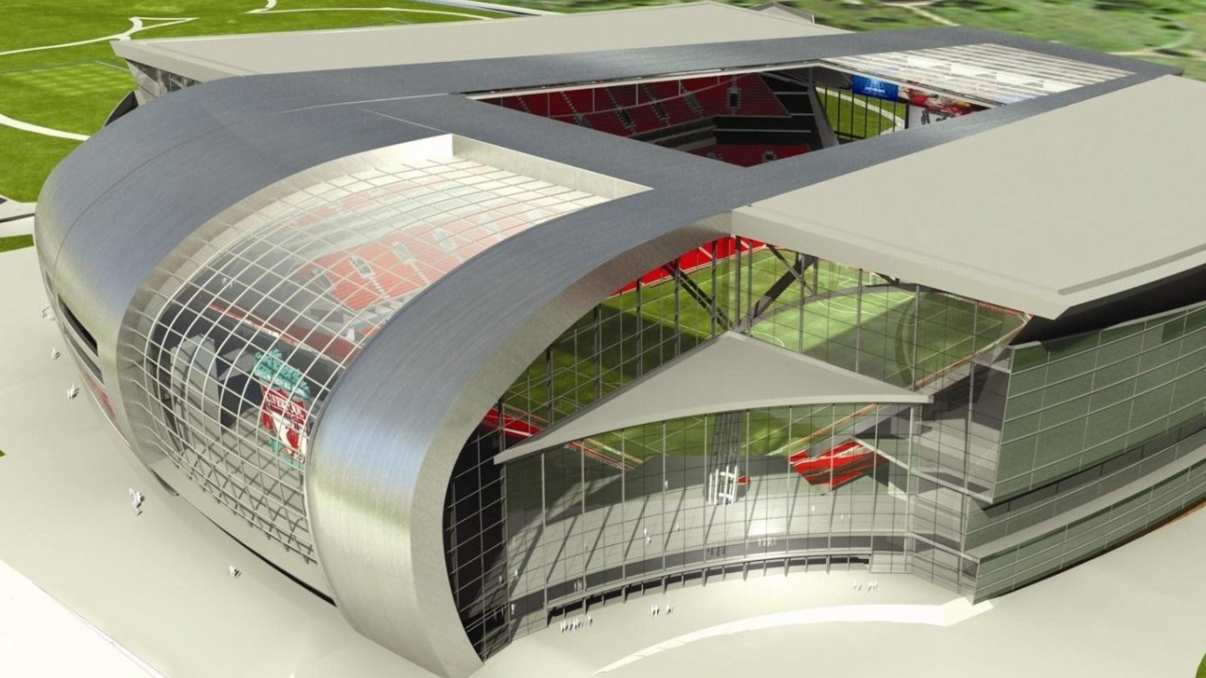 Ramboll. New Anfield Stadium. Image: HKS Architects