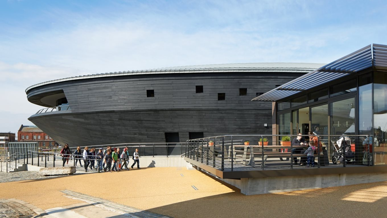 Ramboll. Mary Rose Museum. Image: Hufton+Crow