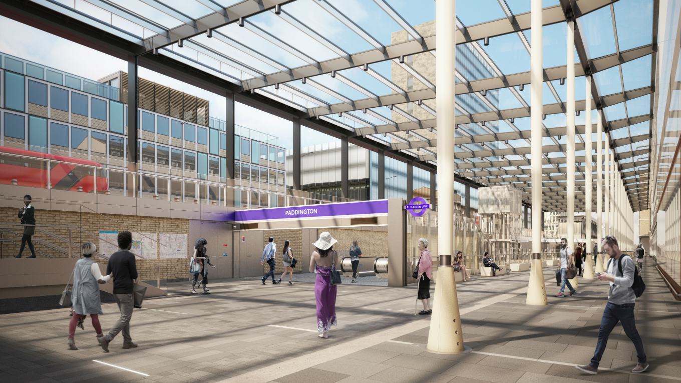 Paddington Crossrail Station. Images ©WestonWilliamson+Partners.