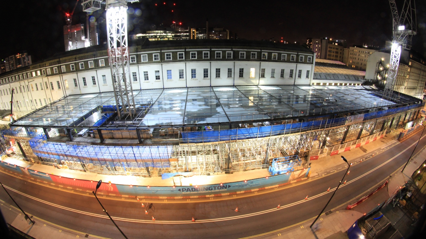 Paddington Crossrail Station. Image: Costain-Skanska CSJV