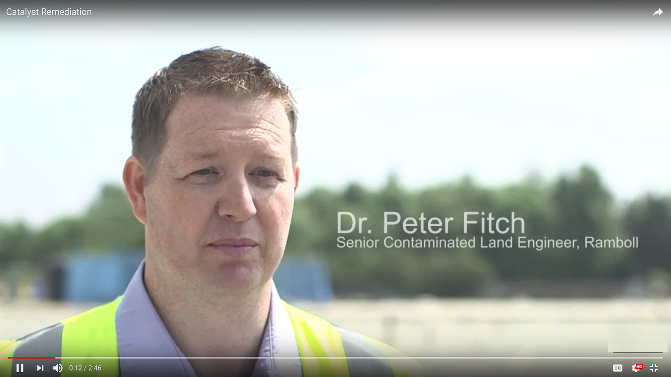 Peter Fitch, Ramboll, supervisor on the Mersey Gateway remediation contract