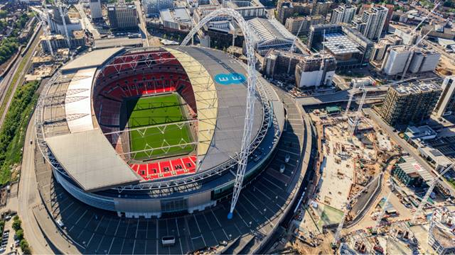Courtesy of Quintain, Image High Level Photography - Plot E05, lower right, beneath the iconic Wembley arch