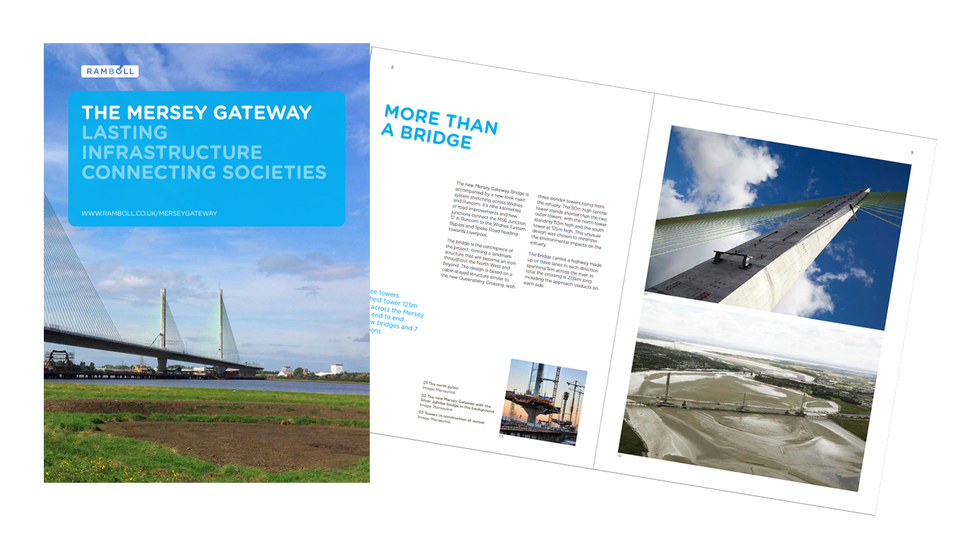 ebook cover- Mersey Gateway story